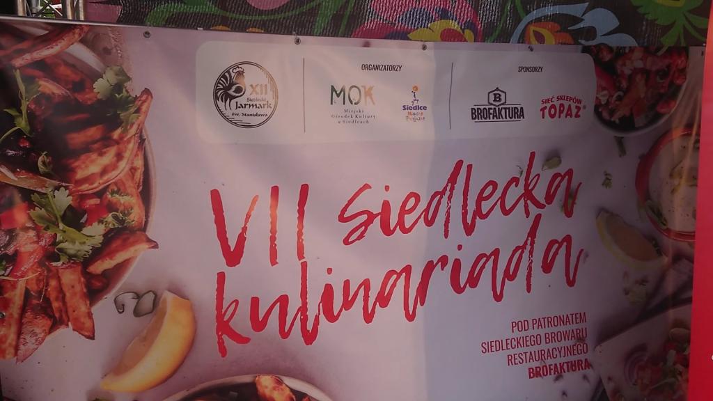 Siedlecka Kulinariada - Brofaktura 2019